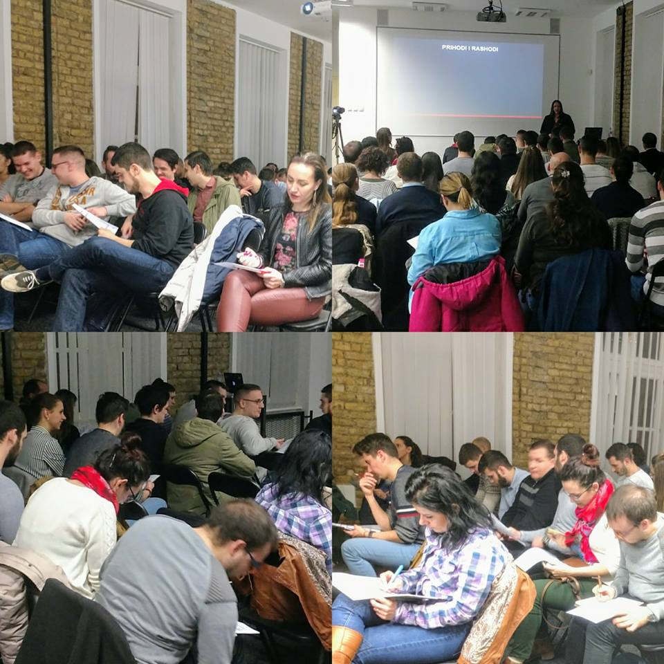 Money Meetup Finansijskim planom do uspeha Subotica atmosfera