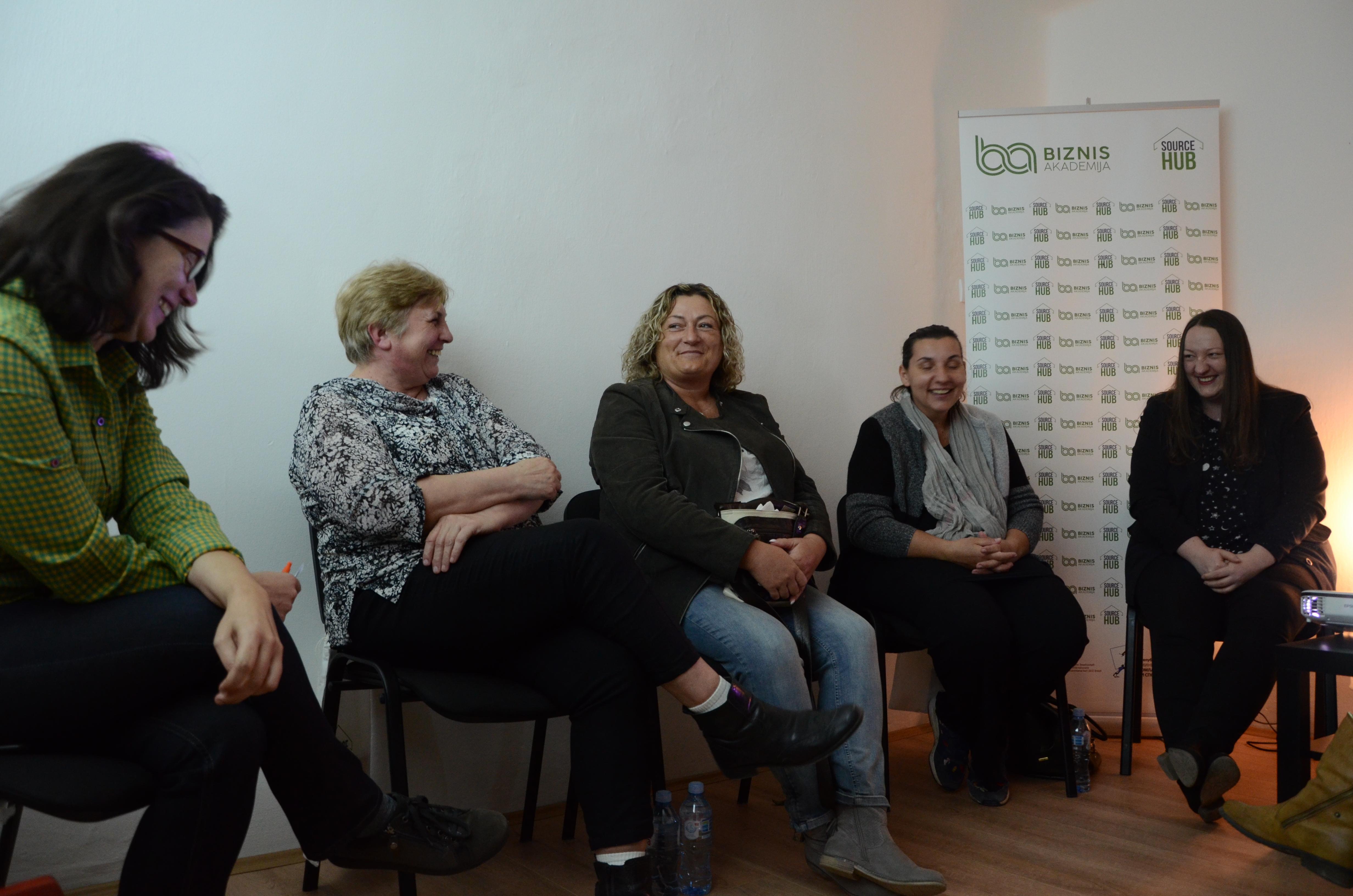 Source Hub Biznis akademija Panel žensko preduzetništvo u ruralnim područjima Mali Iđoš 10