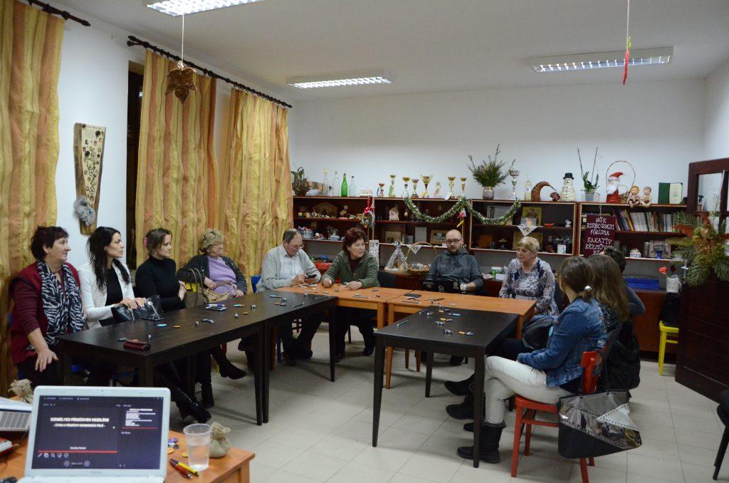 Radionica Upravljanje ličnim finansijama Mali Iđoš učesnici